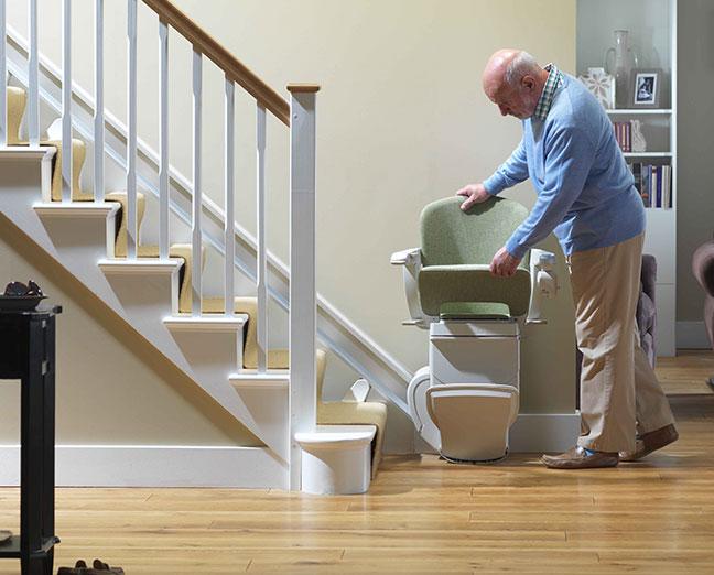 escaleras estrechas no son un problema